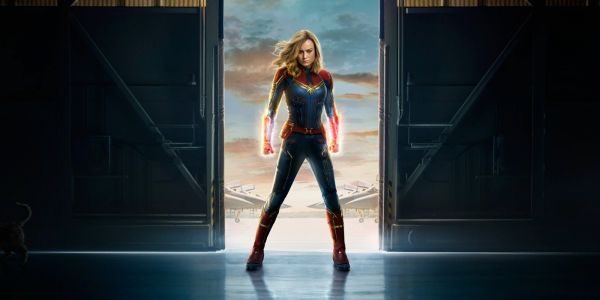 Captain Marvel Teaser Poster Reveals New Look At Brie Larson In Costume