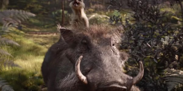 Seth Rogen Says The Lion King Footage Makes Him 'Weep Uncontrollably'