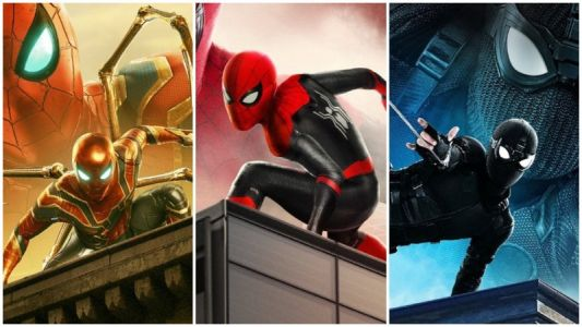 New Spider-Man: Far From Home Promo Highlights All the Spidey Suits