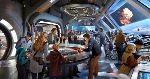 Go Inside the Star Wars Galactic Starcruiser Resort at Disney