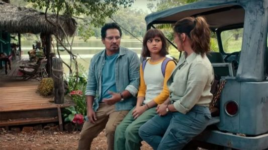 Dora Prepares to Leave the Jungle in New Lost City of Gold Clip