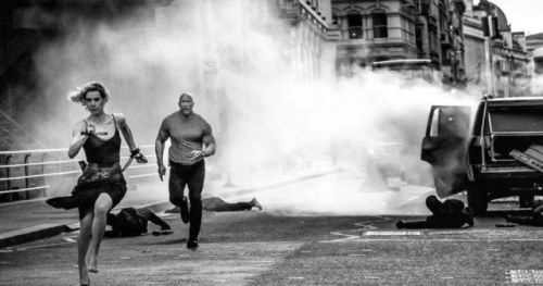 The Rock Teases Massive Hobbs & Shaw Action Scene on the