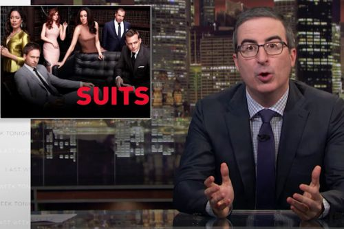 John Oliver Rips 'Suits', Makes An Enemy For Life. ME