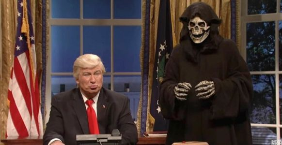 "Alec Baldwin is ""So Done"" with Playing Donald Trump on 'Saturday Night Live'"