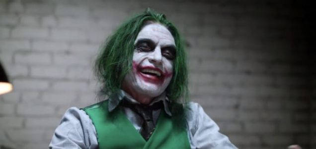 LOL: 'The Dark Knight' Interrogation Recreated with 'The Room' stars Tommy Wiseau and Greg Sestero