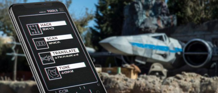 First Look at Star Wars: Galaxy's Edge App For Disney Parks
