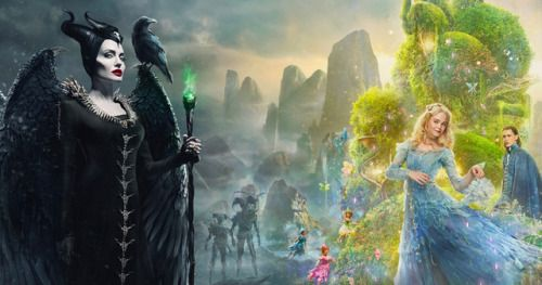 Maleficent 2 Storms D23 with Spooky Mistress of Evil