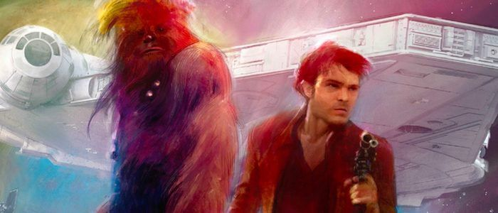 See Exclusive 'Solo' Concept Art From 'The Art of Solo: A Star Wars Story' Book