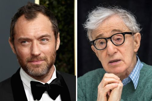 "Jude Law Says ""It's a Terrible Shame"" Woody Allen's New Movie Was Shelved"