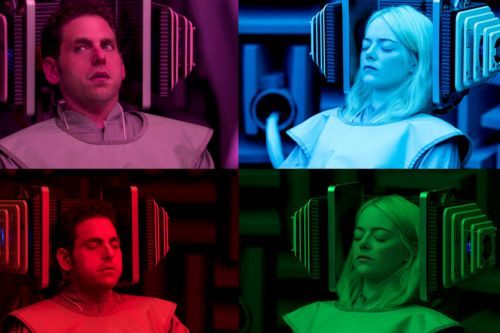 Netflix's 'Maniac': Your First Look At Emma Stone & Jonah Hill's Psychological Comedy