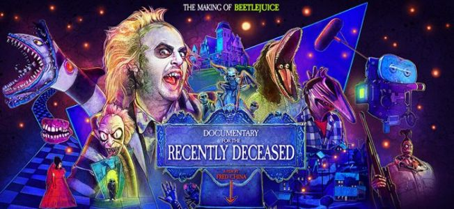The Making of 'Beeltejuice' Is Coming in 'Documentary for the Recently Deceased'