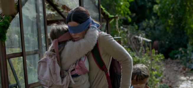 """'Bird Box' Deleted Scene Showed One of the Creatures, Described as a """"Long Fat Baby"""""""