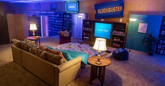 The Last Blockbuster Becomes an AirBnB for Summer Sleepover Event