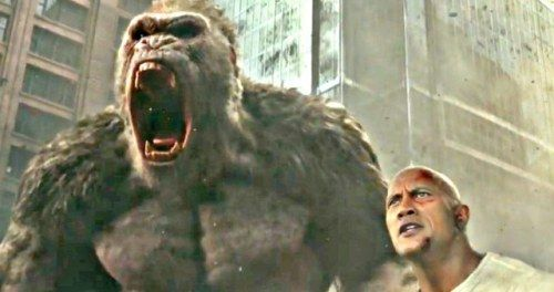 Rampage Trailer 2 Has The Rock in a Tag Team Match with a