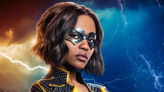 Black Lightning: China Anne McClain Strikes a Pose as Lightning