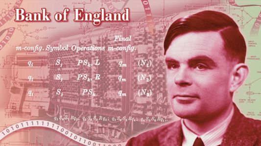 Alan Turing Will Be Featured on England's New £50 Banknote