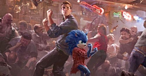 Sonic the Hedgehog Concept Art Shows Chris Evans Paired with