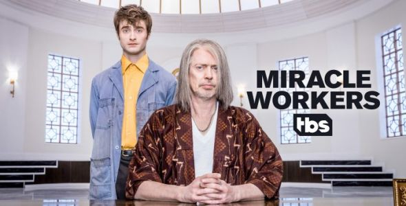 'Miracle Workers' Trailer: Steve Buscemi is God and Daniel Radcliffe is an Angel in New TBS Series