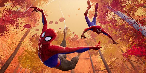 Phil Lord And Chris Miller Explain The Fake Seth Rogen Movie Inside Spider-Man: Into The Spider-Verse