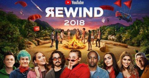YouTube Rewind 2018 Beats Justin Bieber for Most Disliked