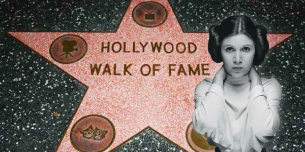 Star Wars Fans Petition for Carrie Fisher to Receive a Hollywood Walk of Fame Star
