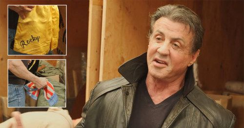 Watch as Sylvester Stallone Revisits His Most Iconic Movie