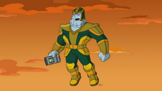 Kevin Feige is Chinnos in The Simpsons' Avengers Spoof