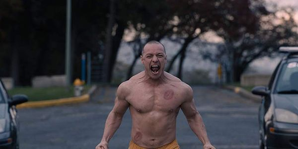 James McAvoy's Body Was Signed By Celebs At The Oscars