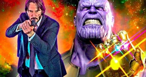 John Wick Vs. Thanos In Avengers: Infinity War Fan-Made