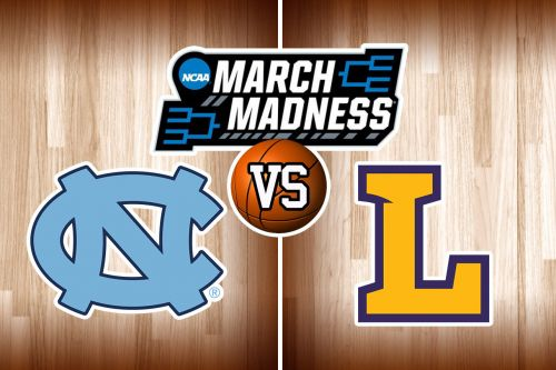 North Carolina vs. Lipscomb: How to Watch March Madness Game Free Online