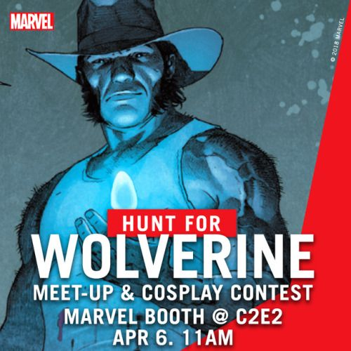 Heading to C2E2? Show us your best Wolverine at the MarvelC2E2