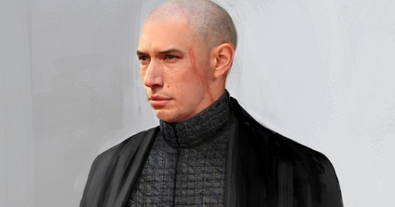Kylo Ren Was Almost Bald in The Last Jedi