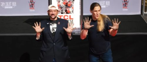 VOTD: Kevin Smith and Jason Mewes Honored with TCL Chinese Theatre Hand & Footprint Ceremony