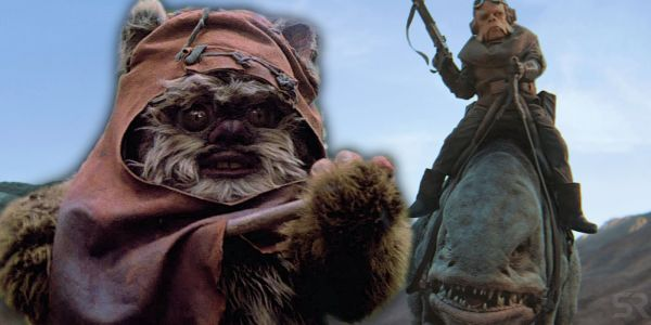 """Star Wars: The Mandalorian's """"New"""" Creatures Come From 1980s Ewok Movies"""