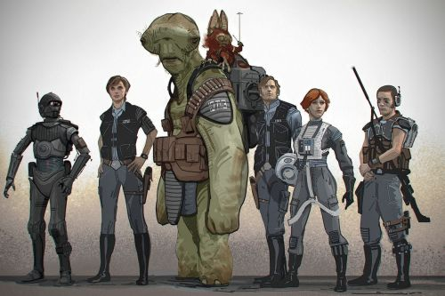 30 Unused Star Wars Concept Art Designs That Would've Changed Everything