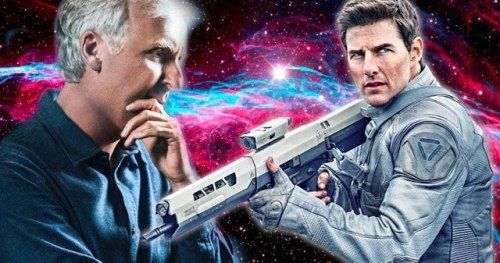 James Cameron & Tom Cruise Almost Made a Movie in SpaceTom