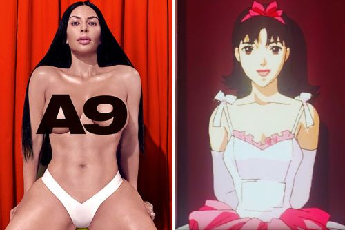 Perfect Nude: Kim Kardashian's Richardson Magazine Photo Shoot Inspired By Anime Classic 'Perfect Blue'