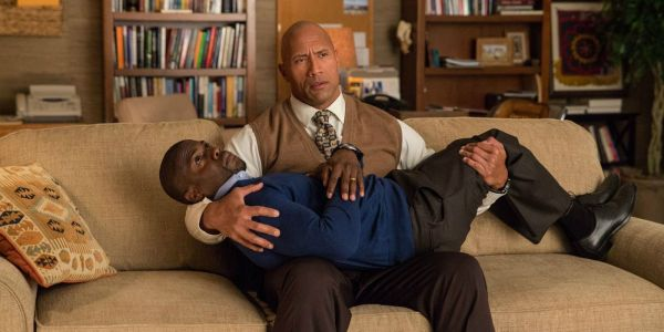 The Rock Gives Hilarious Health Update on Jumanji Co-Star Kevin Hart