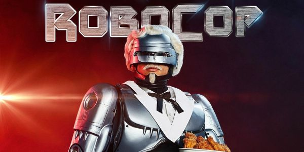 KFC's Newest Colonel Sanders is. Robocop!?
