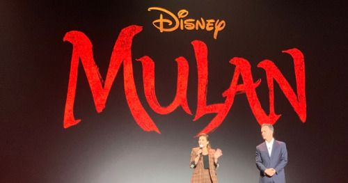 New Mulan Footage Brings Down the House at D23Disney's D23