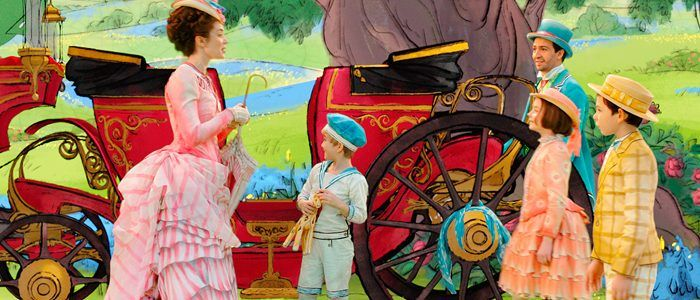 'Mary Poppins Returns' Images: Emily Blunt and Lin-Manuel Miranda Try to Recapture the Magic of the Original