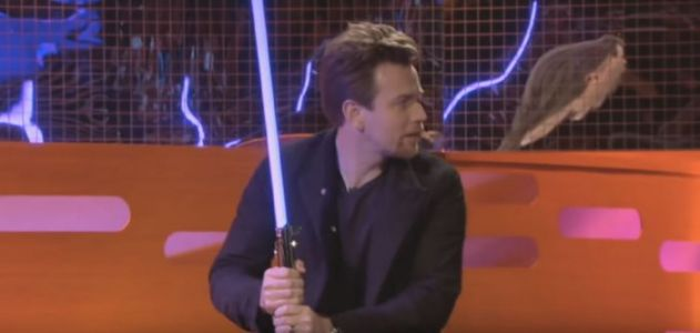 The Morning Watch: Ewan McGregor Shows Off Lightsaber Skills, Looking Back at Street Sharks & More