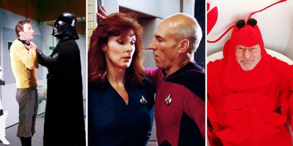 Star Trek: 21 Photos That Would Get The Cast Kicked Out Of Starfleet