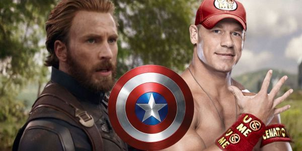 John Cena Open to Playing Captain America in the MCU