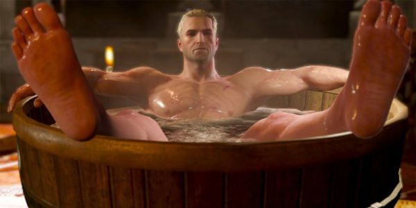 The Witcher TV Show May Include Geralt's Iconic Bathtub Scene