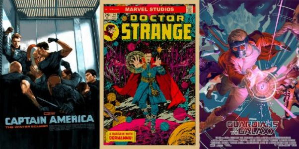 """Mondo's """"Marvel Studios: The First Ten Years"""" Gallery - The Artists Share Their Favorite MCU Movies"""