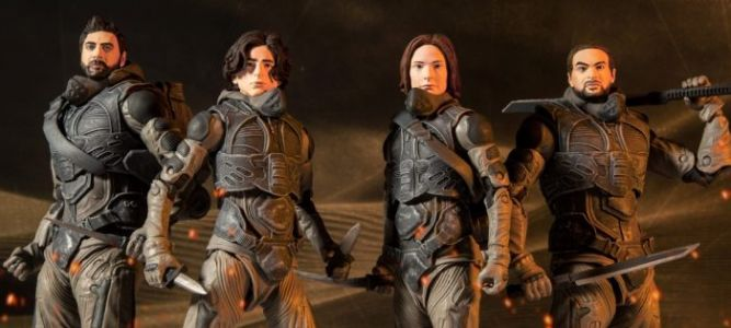 Cool Stuff: 'Dune' Action Figures Are Coming from McFarlane Toys in November
