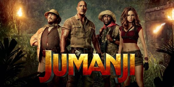 The Rock & Danny DeVito Rehearse Jumanji Sequel In New BTS Photo