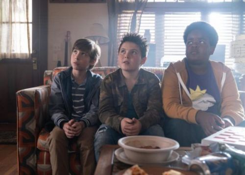 Good Boys Movie starring Jacob Tremblay, Keith L. Williams, and Brady Noon