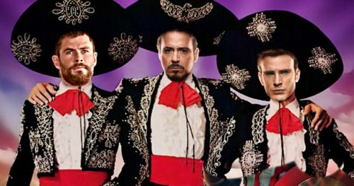 Chris Hemsworth Wants Three Amigos! Remake with Chris Evans
